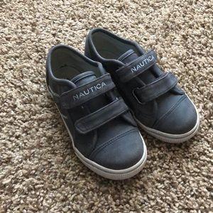 Nautical boys shoes